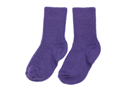 Joha strømper wool purple